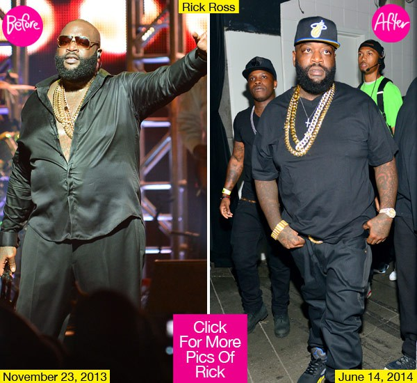 Doubted Reasoning: Rick Ross Loses Weight WTF?