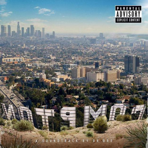 Hip Hop Mixtape Reviews-COMPTON: A Soundtrack by Dr. Dre
