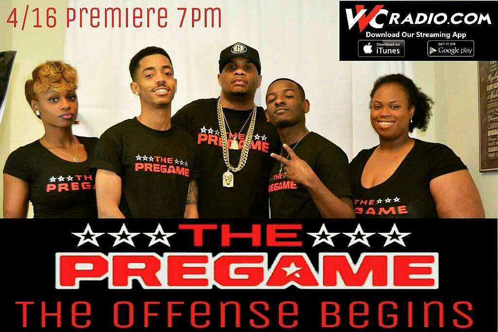 The PreGame Show Premieres on VVC Radio