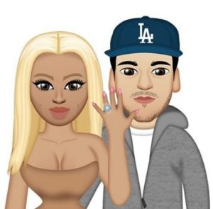 chyna and rob emoji