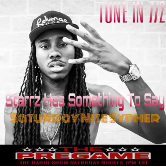The PreGame Show : 7/2/16 with Actor Nelson Irizarry of Purge 3, Hip Hop Artist Starzz and Maryland Rivers
