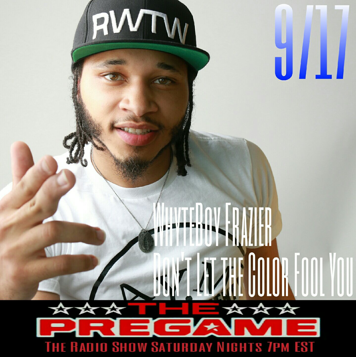 The PreGame Show 9/17/16: WhyteBoy Fraizer and Hellboy