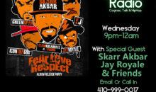 Aries Lounge Radio: Skarr Akbar & Friends