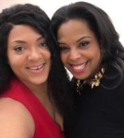 Dia Simms and I all smiles after the awards.