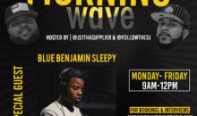 Morning Wave: Blue Benjamin Sleepy