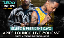 Aries Lounge Podcast: Starrz