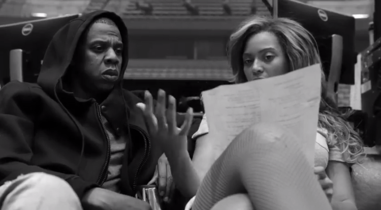 Jay Z & Beyonce: On The Run Tour Rehearsals (Video)