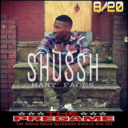 The PreGame Show 8/20/16- Rapper Shussh, Singer Rich Love and Jewelry Designer Jahfarii Beads with Guest Host Nikki Jasmin